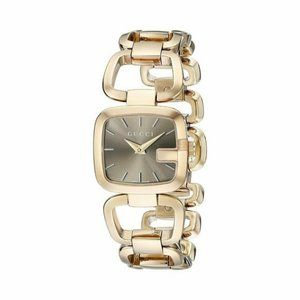 Gucci G-Gucci Gold-Tone Stainless Steel Watch